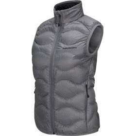 Peak Performance W's Helium Vest Women Grey melange